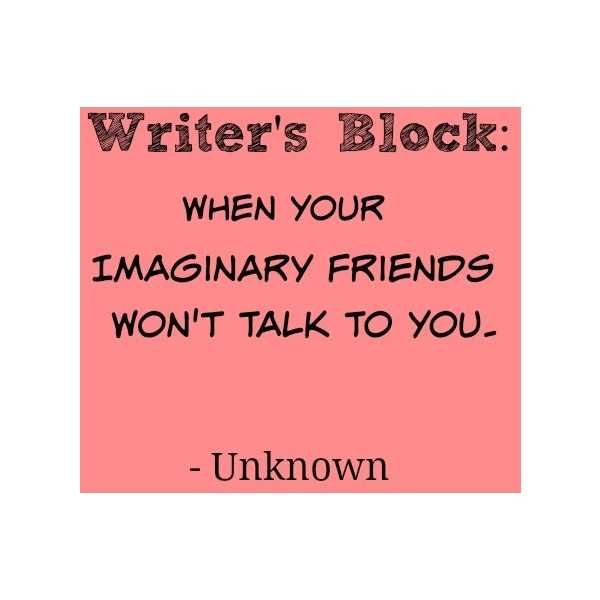 Writers Block, Imaginary Friends & Style